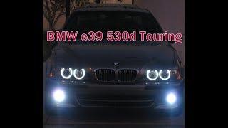BMW e39  530d Touring Чёрный бумер...