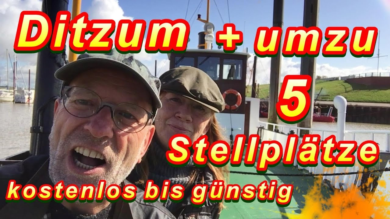 kostenlose g nstige stellpl tze in deutschland mit dem wohnmobil nach ostfriesland youtube. Black Bedroom Furniture Sets. Home Design Ideas