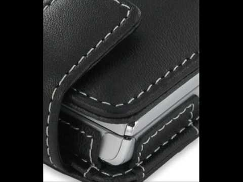 PDair Leather Case for Sony Ericsson T715/T715a - Flip Type (Black)