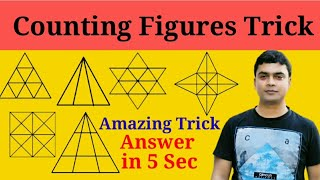 Best trick for counting figures | Reasoning | RRB | Railway
