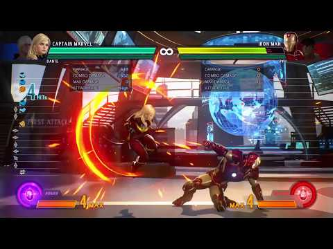 MvCI Ms. Marvel Mid Screen No Fly Combo, 4k