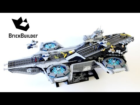 lego-super-heroes-76042-the-shield-helicarrier---lego-speed-build