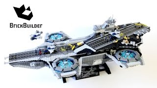 Lego Super Heroes 76042 The SHIELD Helicarrier - Lego Speed Build