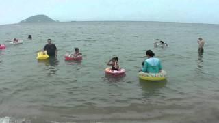 志賀島 海水浴場 2011.08.09♪