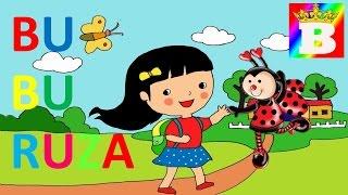 Buburuza. Poezii pentru copii de gradinita.  Bogdan`s Show. Desene animate în româna.