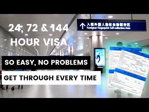 Transit visa china EXPLAINED properly! 24, 72 and 144 hour visa free | Air china, Shanghai airport
