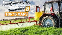 LS19: TOP 15 MAPS für den Farming Simulator 19 | die besten Karten für den Landwirtschafts-Simulator