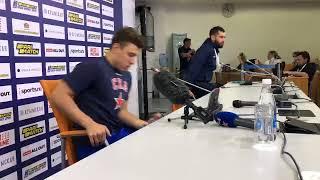 Андрей Кузьменко после третьего матча с Локомотивом