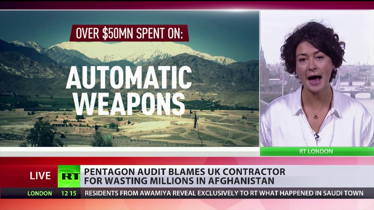 UK contractor blamed for wasting $$$s in Afghanistan