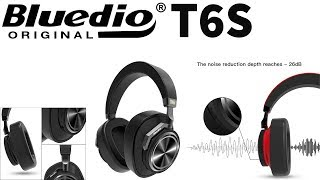 Bluedio T6S Noise Cancelling Wireless Headset Slide Review on AliExpress