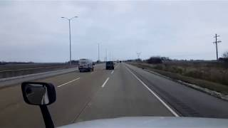 BigRigTravels LIVE! US 35 Eastbound east of Kokomo, Indiana