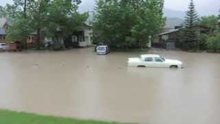 The Great Canmore Flood of 2013