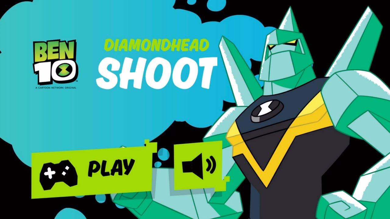 Cartoon Network GameBox | DIAMONDHEAD SHOOT! Play games with the BEST Cartoon Network shows!