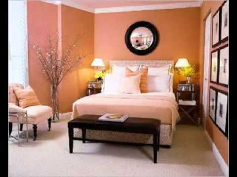 easy diy orange and brown bedroom design ideas - Orange And Brown Bedroom Ideas