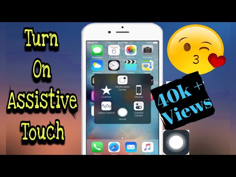 iPhone 5 : How to turn on assistive touch