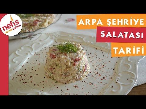Arpa Şehriye Salatası - Salata Tarifi - Nefis Yemek Tarifleri