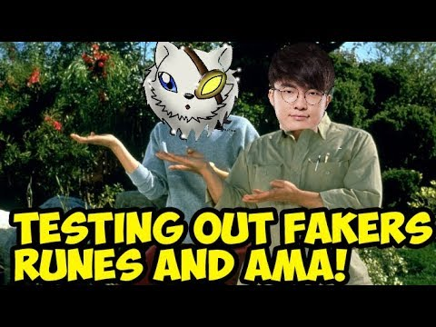 5K SUBS SPECIAL - AMA + Testing Faker's Runes