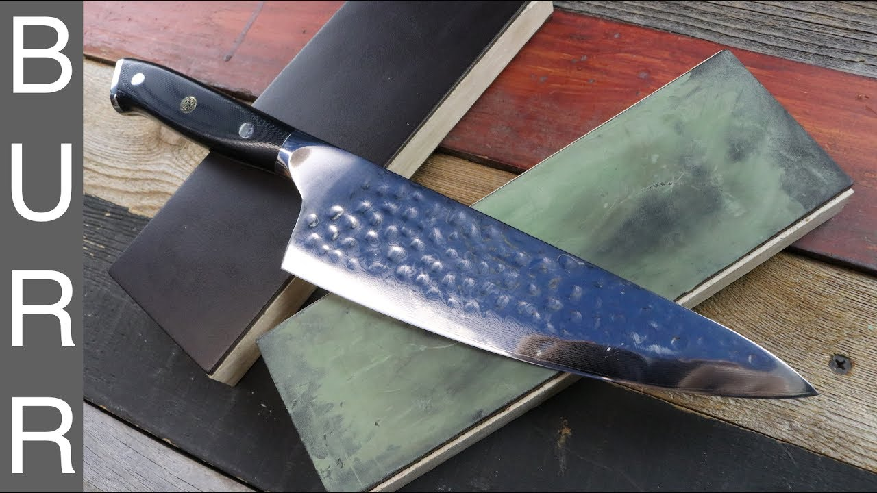 Daily Knife Edge Maintenance With Leather Strop