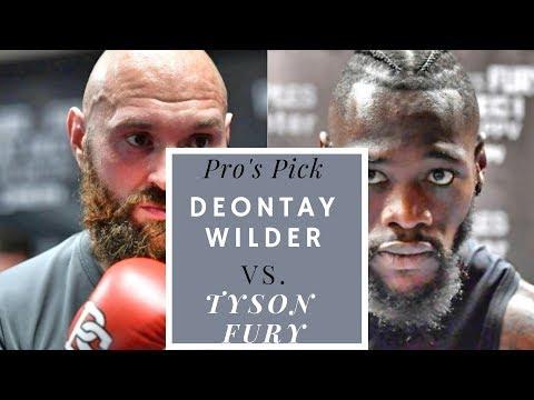 Deontay Wilder vs. Tyson Fury: Pros Pick!