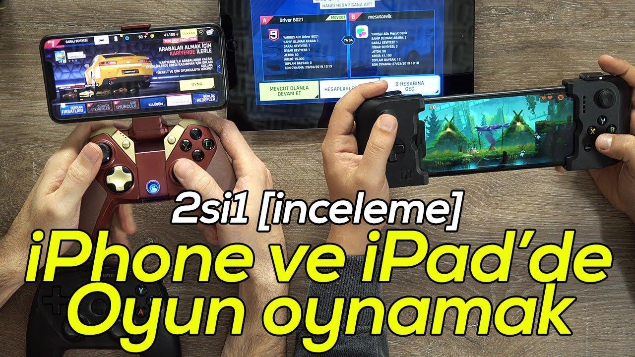 2si1 Iphone Ve Ipad De Gamepad Ile Oyun Oynamak Youtube