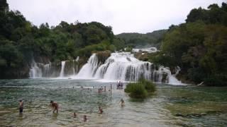видео Водопад Скрадинский Бук