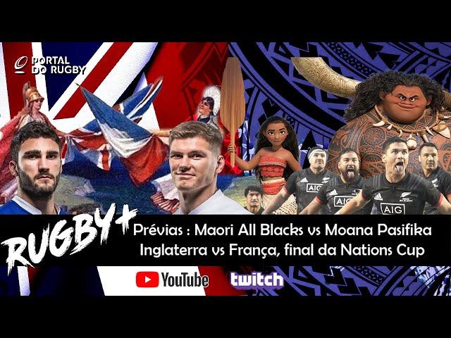 Rugby+ faz a prévia de França e Inglaterra e de Maoris vs Moana!