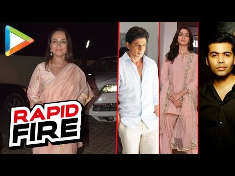 "Soni Razdan: ""If I wake up as SRK, I would stop smoking…"" 