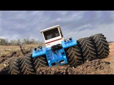 Biggest Tractors Stuck