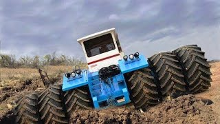 Biggest Tractors Stuck in Mud Compilation | Tractor Pull and Sound 2020