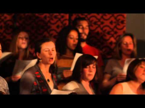PopUp Chorus sings My Girls  Animal Collective