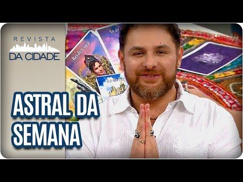Previsão Dos Signos, Tarot E Ritual Da Semana - Revista Da Cidade (09/04/18)