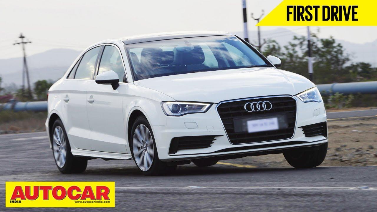 Audi A Sedan TFSI Petrol Exclusive India Drive Review - Audi autocar
