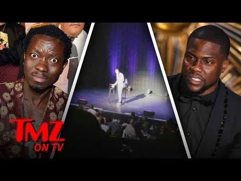 Kevin Hart In A Heated Comedian Battle | TMZ TV