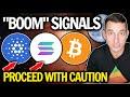 Crypto Market SIGNALLING BOOM AHEAD! Cardano & Solana Leading the Bitcoin Bull!