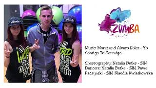 Zumba Fitness - Morat and Alvaro Soler - Yo Contigo Tu Conmigo - Choreography by Natalia Betke