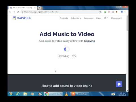 How To Video Add Music On Online Free Keepwing Youtube