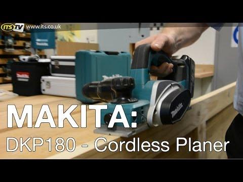 Видео обзор: Рубанок MAKITA DKP 180Z (RC)