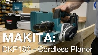 Makita Dkp180 Cordless Planer - Its Tv