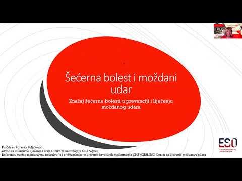 Zdravka Poljaković - Šećerna bolest i moždani udar