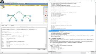 2.1.4.4 Packet Tracer - Configure VLANs, VTP, and DTP