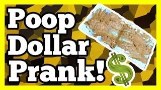 Best Poop Dollar Prank Ever!! Bam Margera Style!