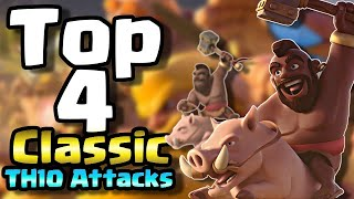 Top 4 Best Classic TH10 Attack Strategies in Clash of Clans