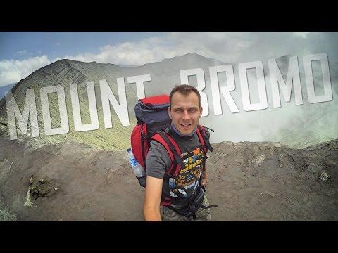 Hiking Mount Bromo, East Java, Indonesia