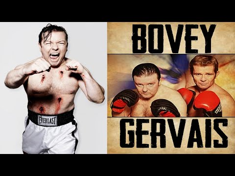 Karl Pilkington and Steve Merchant discuss Ricky Gervais' boxing career