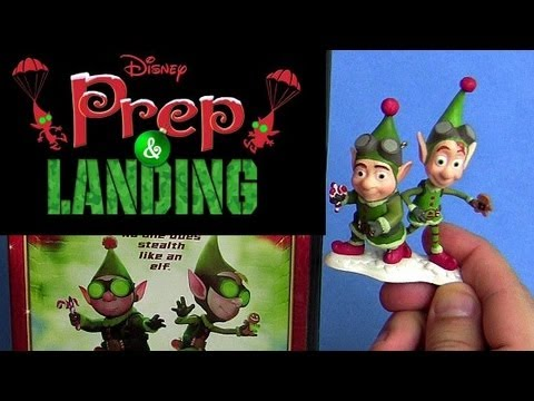 Disney Prep And Landing Dvd Unboxing Review With Christmas Ornament