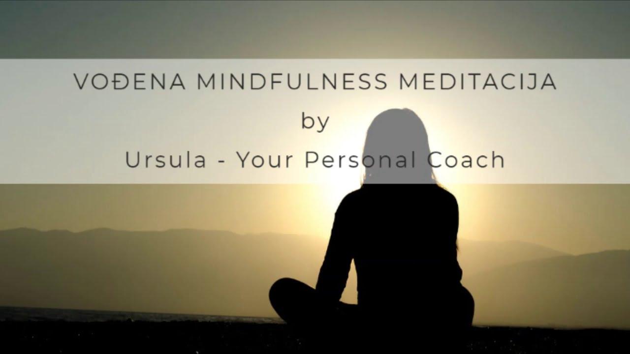 Mindfulness meditacija - Sada i ovdje