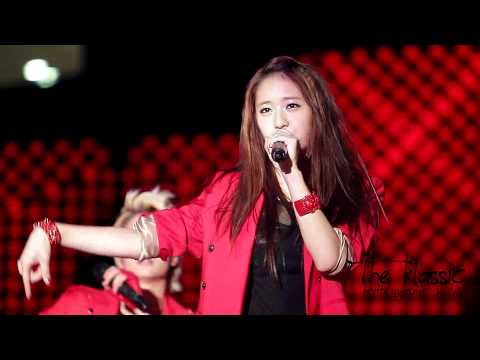 110702 MTV The Show f(x) Hot summer Krystal fancam