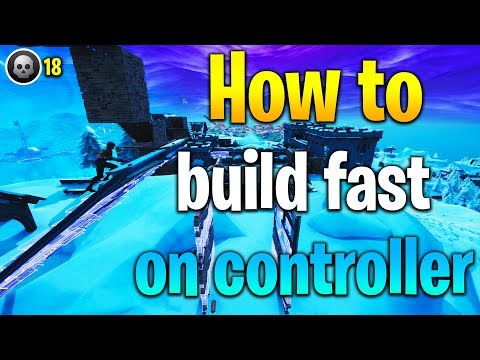 How to BUILD FAST on controller! How to get better at Fortnite! Fortnite building tips!