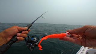 Jigging up a limit - Ocean Bottom Fishing!