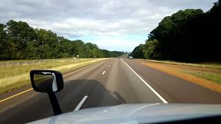 BigRigTravels LIVE! Olive Branch, MS to Mammoth Spring, AR US 78, I-55, US 63-Oct. 10, 2018